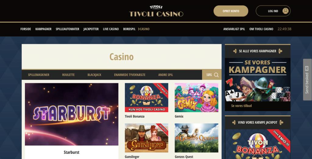 Tivoli Casino Mobile