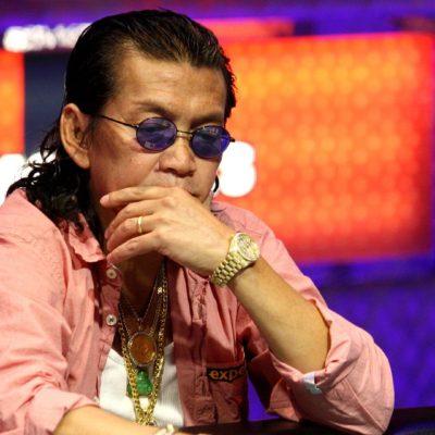 Scotty Nguyen is five-time World Series of Poker bracelet winner