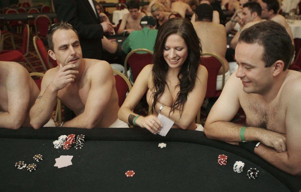 Strip Poker Spiel