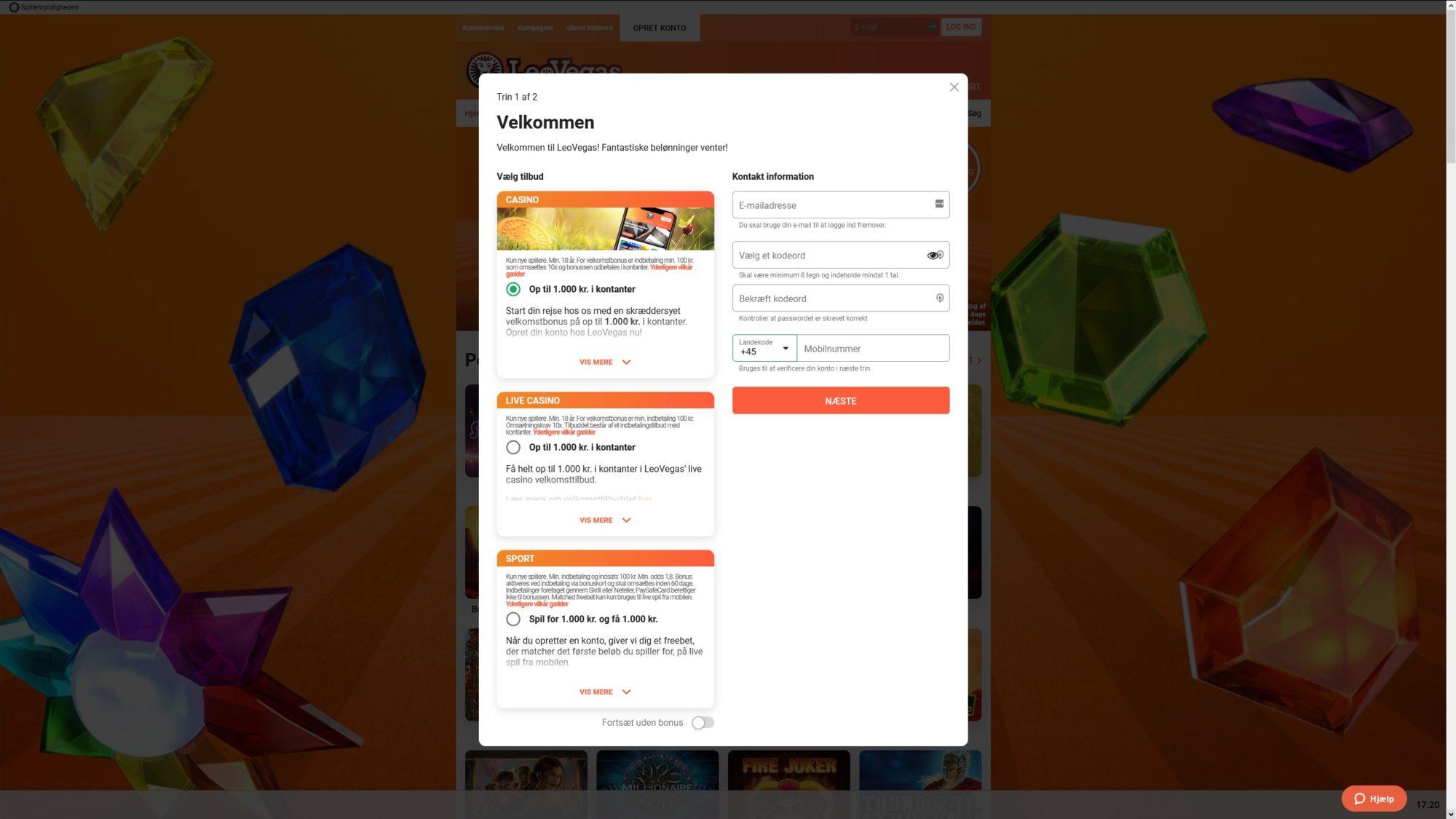 Claim Your LeoVegas Casino Promotion Code