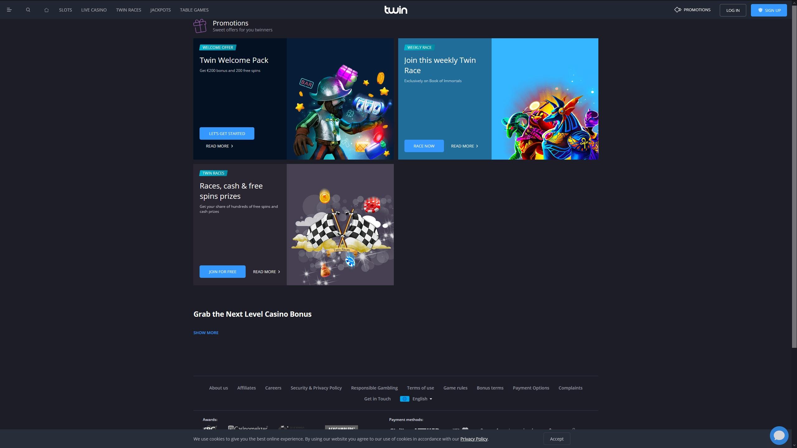 Claim Online Casino Promotion