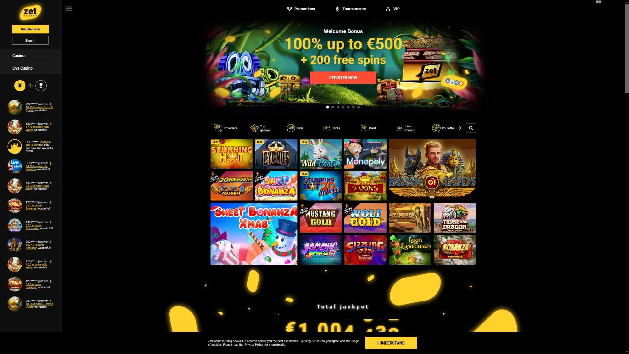 Zet Casino First Look